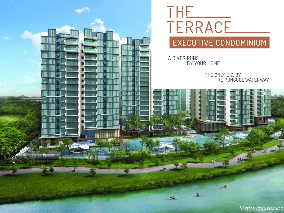 The terrace ec my waterway punggol the new launch for The terrace land and house