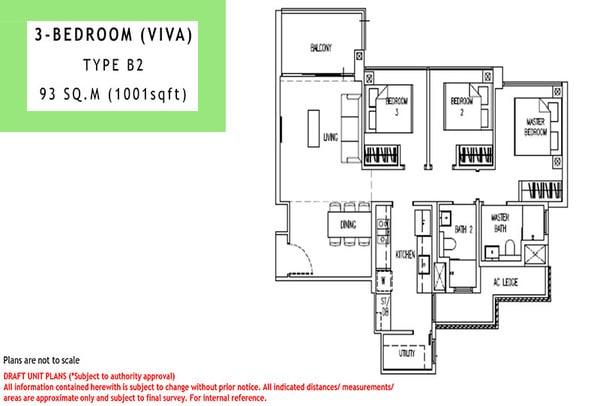 parc life ec floor plan 3br