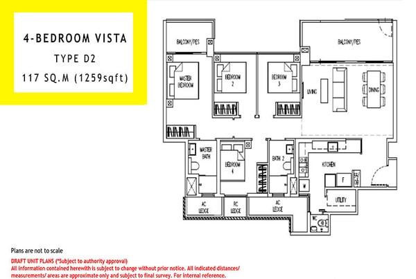 parc life ec floor plan 4br vista