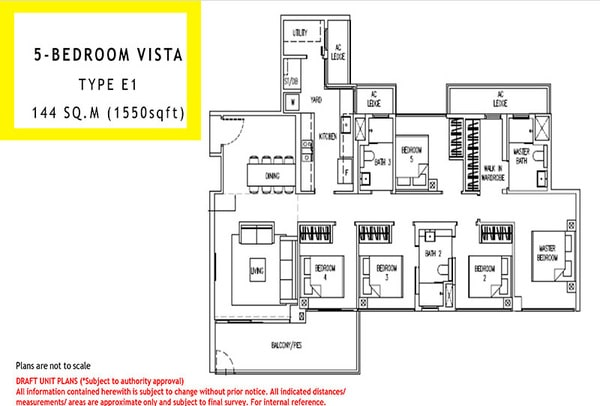parc life ec floor plan 5br