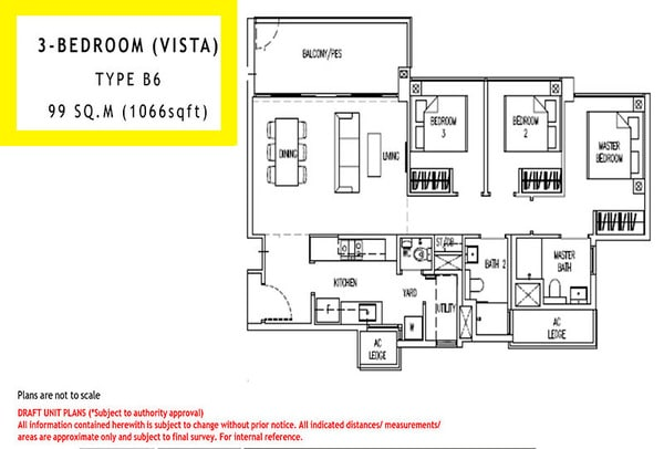 parc life ec floor plan 3br vista