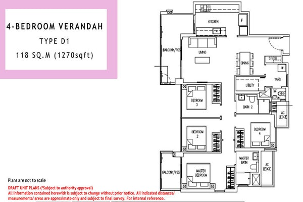 parc life ec floor plan 4br verandah