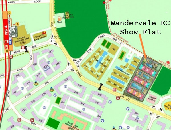 wandervale ec showflat location