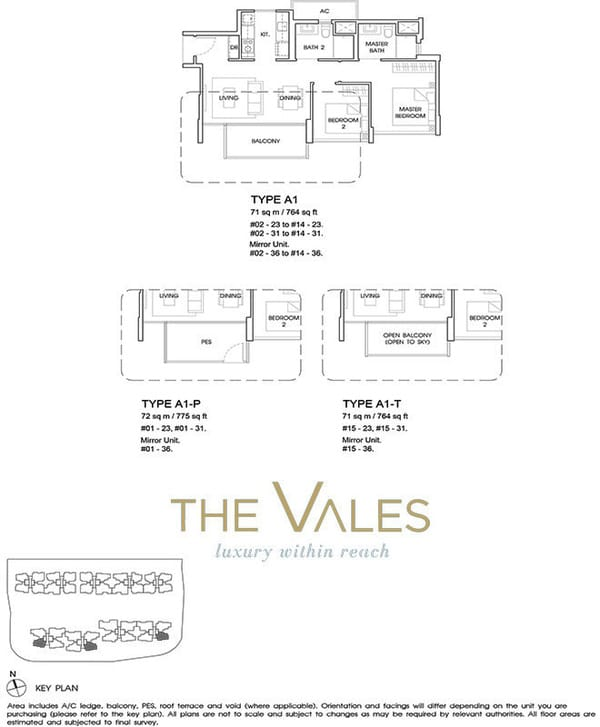 the vales ec floor plan