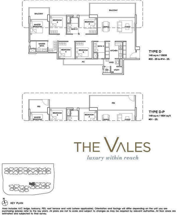 the vales ec floor plan 5br