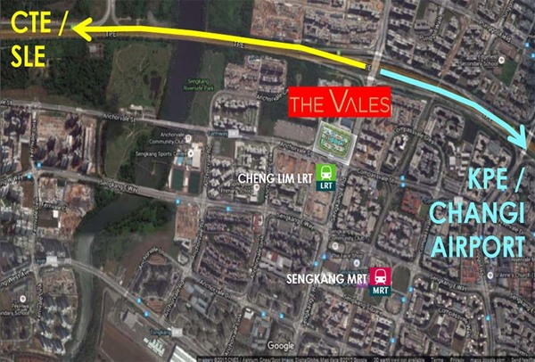 the vales ec location
