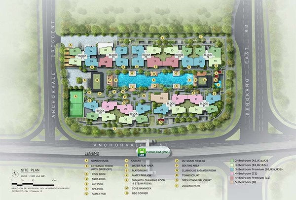 the vales ec site plan