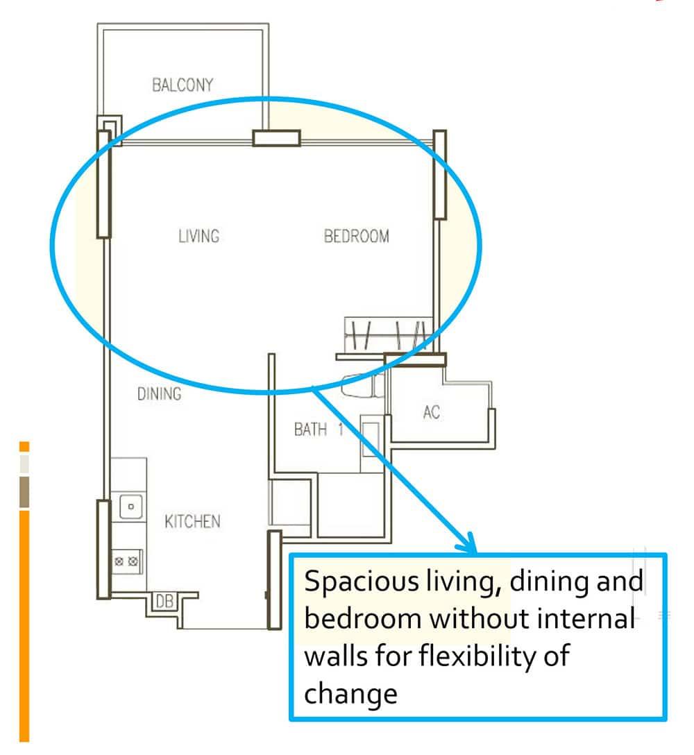 hillion residences floor plan