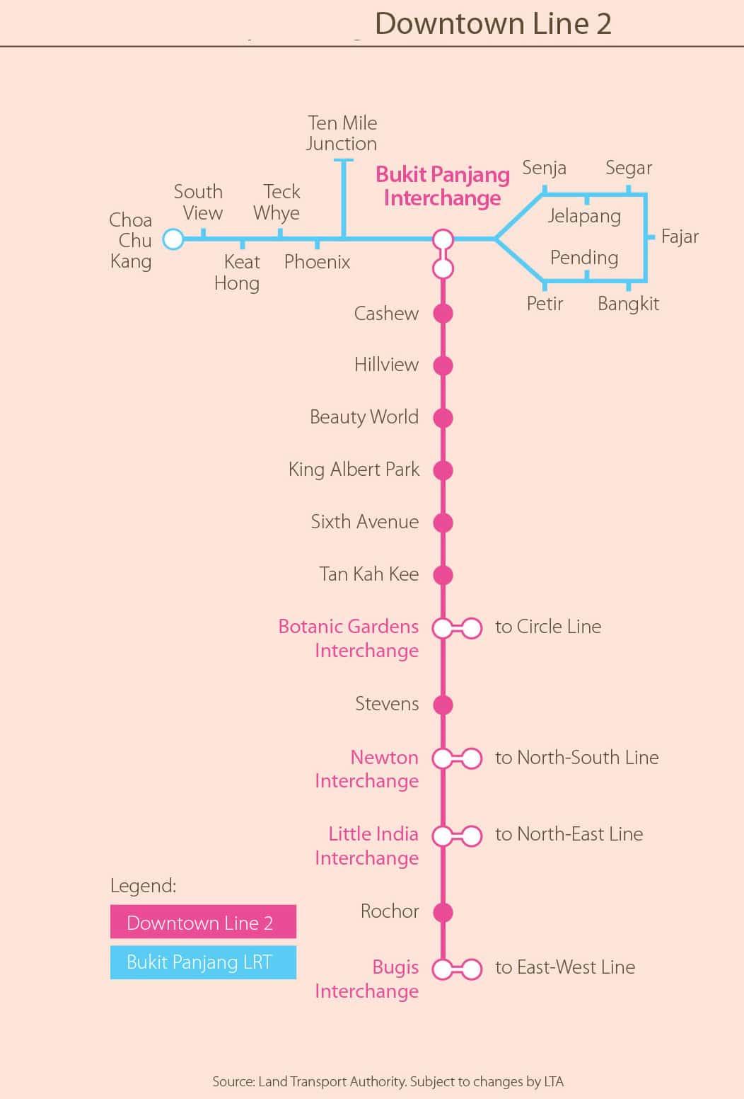 hillion residences mrt map
