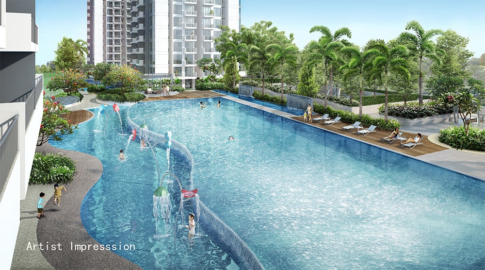 hillion residences pool