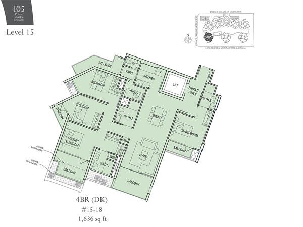 the crest floor plan 4brdk