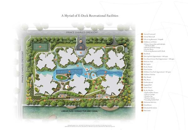 the crest site plan