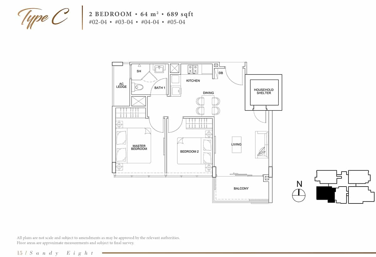 sany eight floor plan C