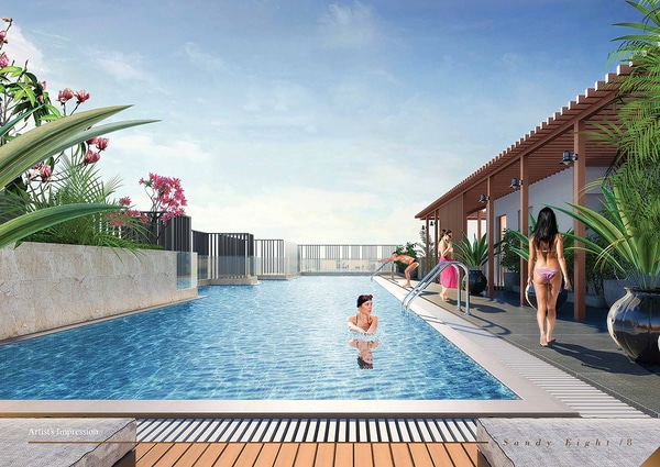 sandy eight pool