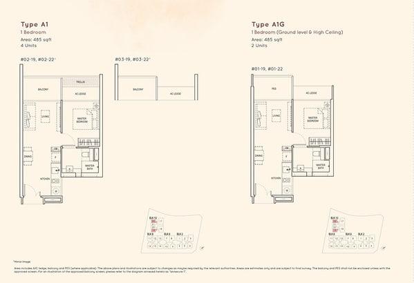 kandis residence floor plan A