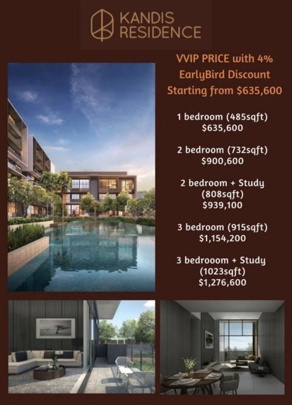 kandis residence prices