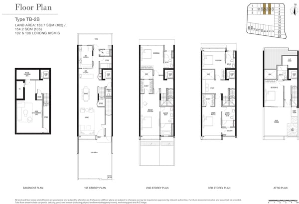 KISMIS RESIDENCES FLOOR PLAN B series