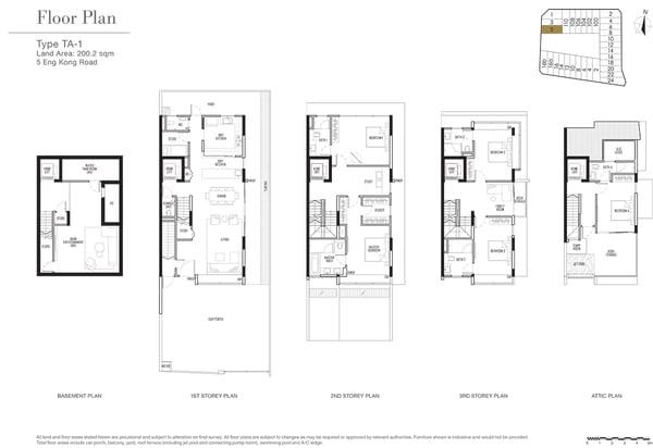 KISMIS Residences Floor Plan TA1