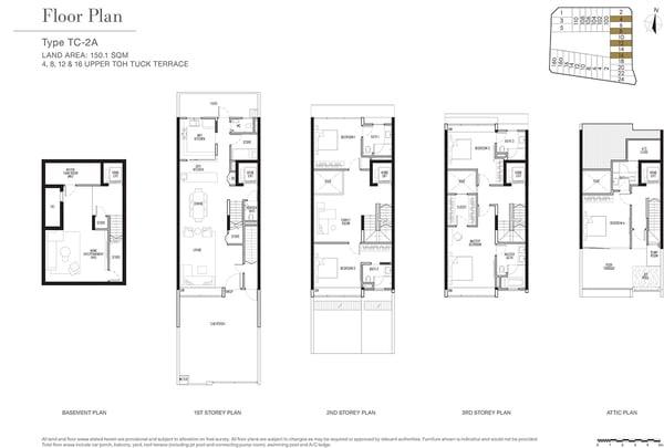 Kismis Residences Inter Terrace Floor Plan No 12