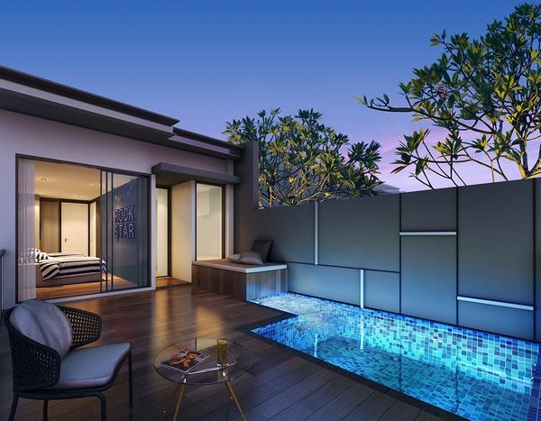 Kismis Residences Rooftop Terrace