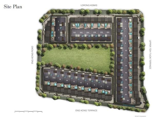 kismis residences site plan