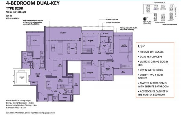 The Tapestry 4 Bedroom DK floor plan