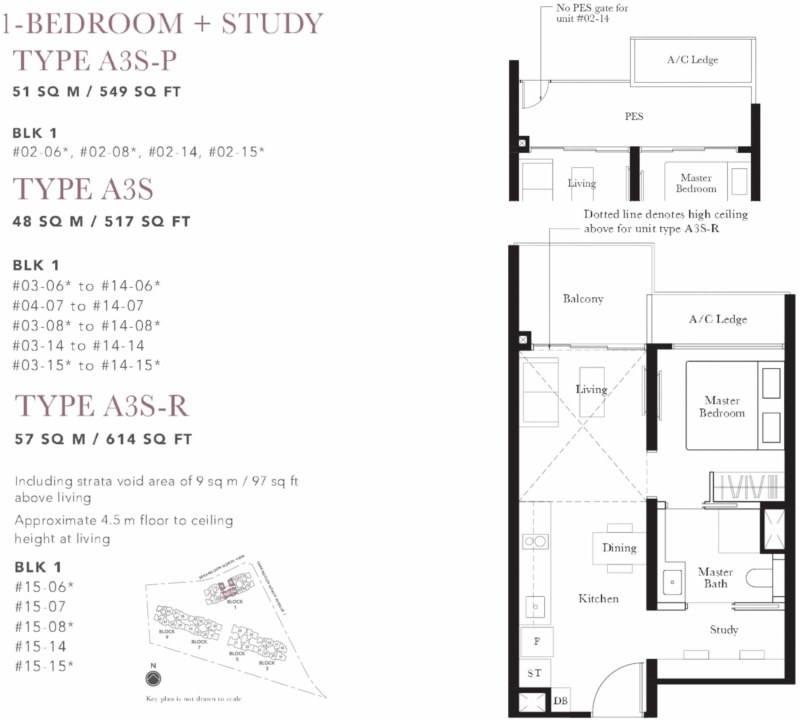 The Garden Residences Floor Plan 1 The New Launch Property