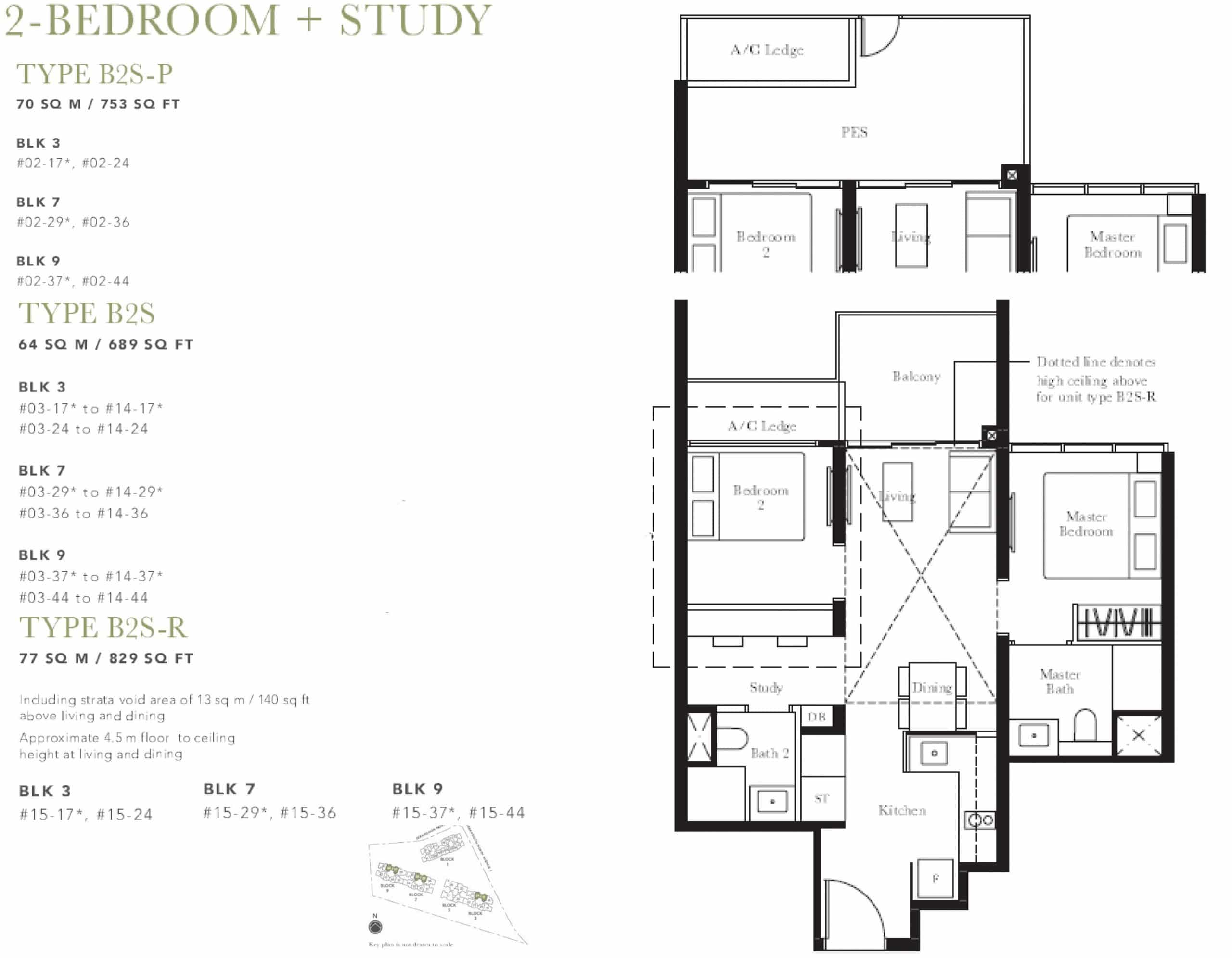The Garden Residences Floor Plan 2 The New Launch Property