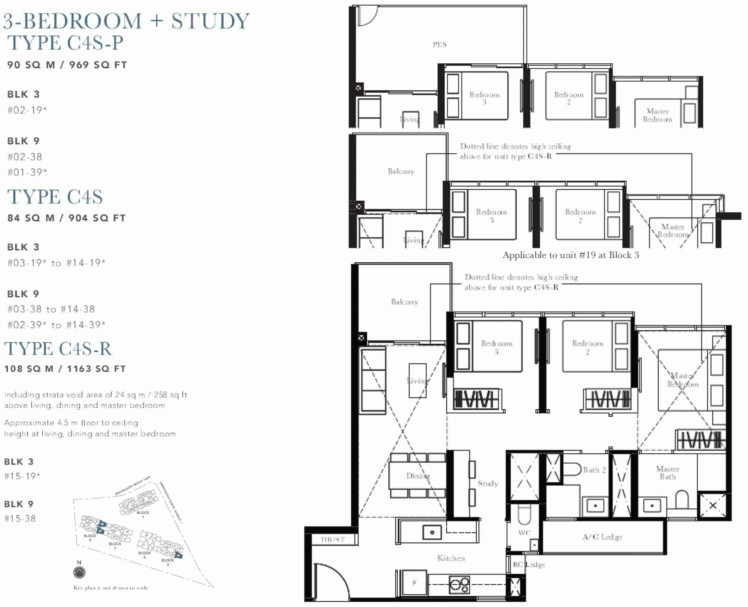 he Garden Residences Floor Plan C