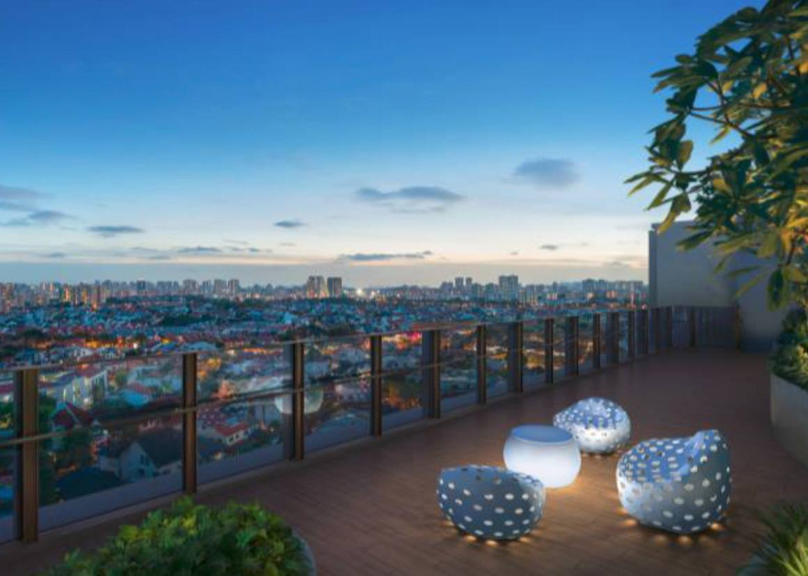 the garden residences landed view