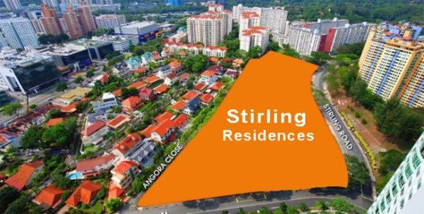 stirling residences site plan