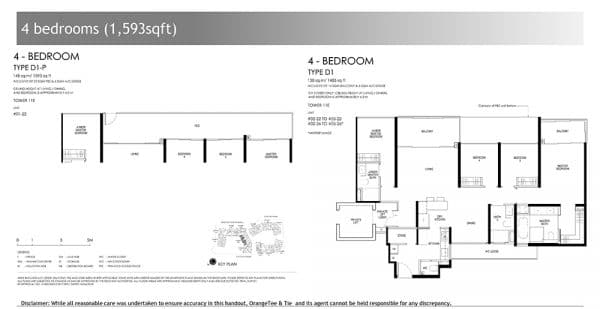 DAINTREE RESIDENCE FLOOR PLAN 4