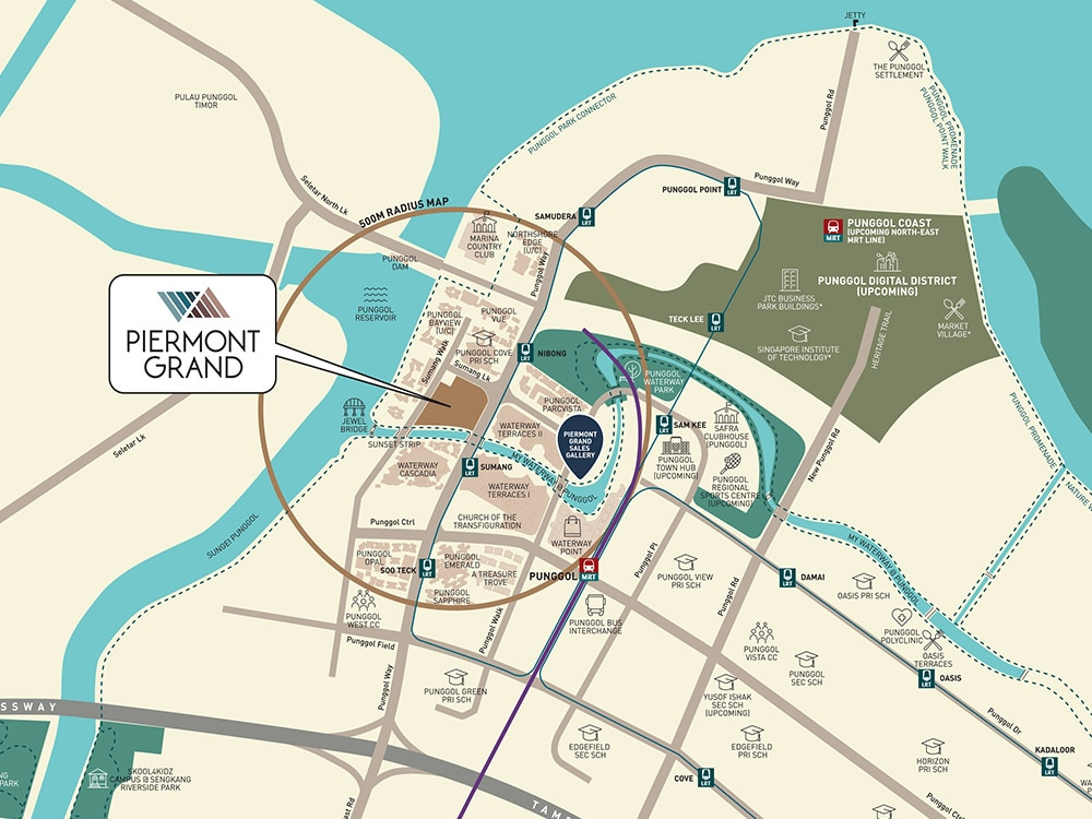 PIERMONT GRAND EC LOCATION MAP