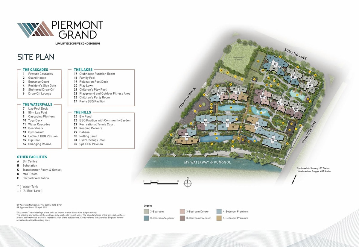 piermont grand ec site plan