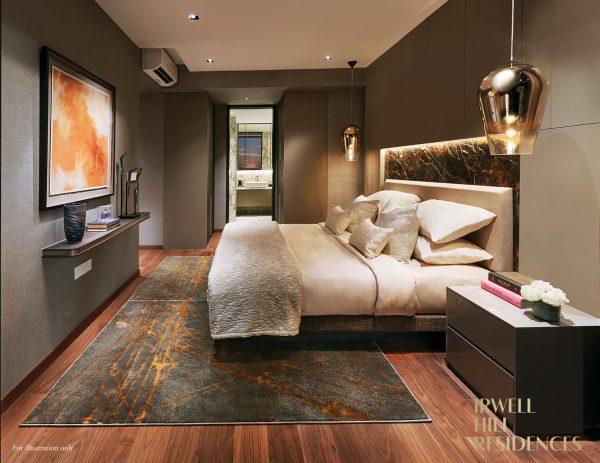 Irwell Hill Residences Bedroom