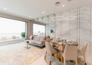 5 Bedrooms Living and Dining